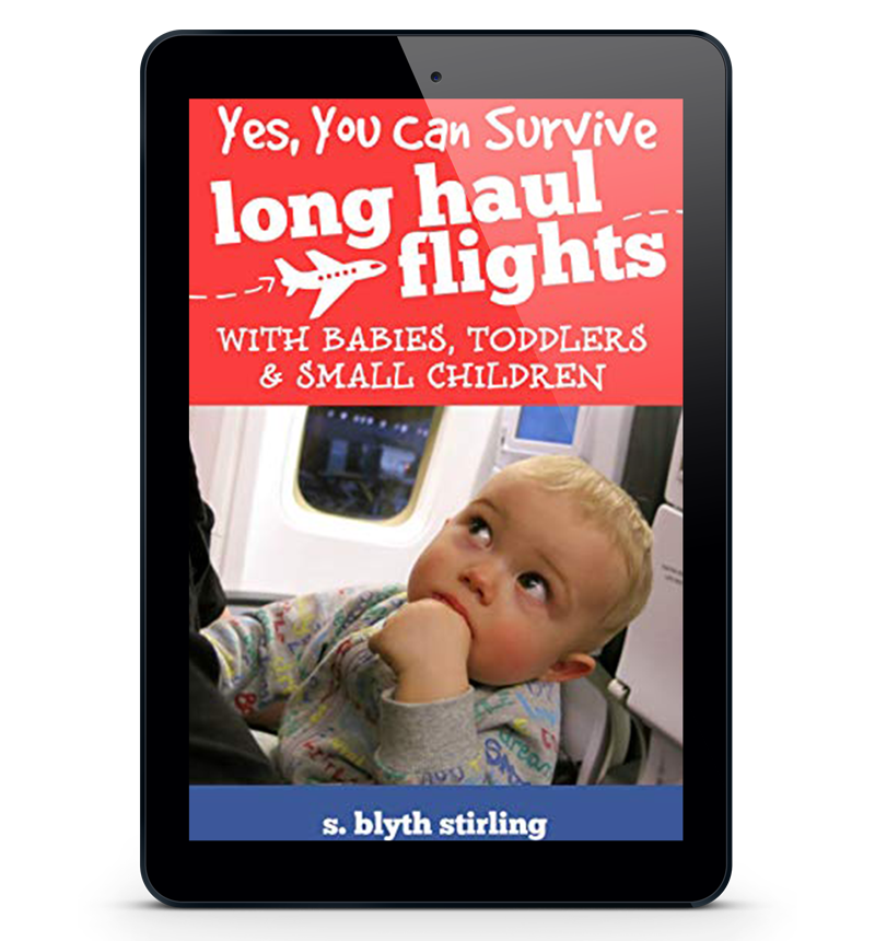Yes you can survive long-haul flights with babies, toddlers & small children